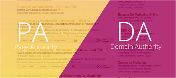Domain Authority و Page Authority