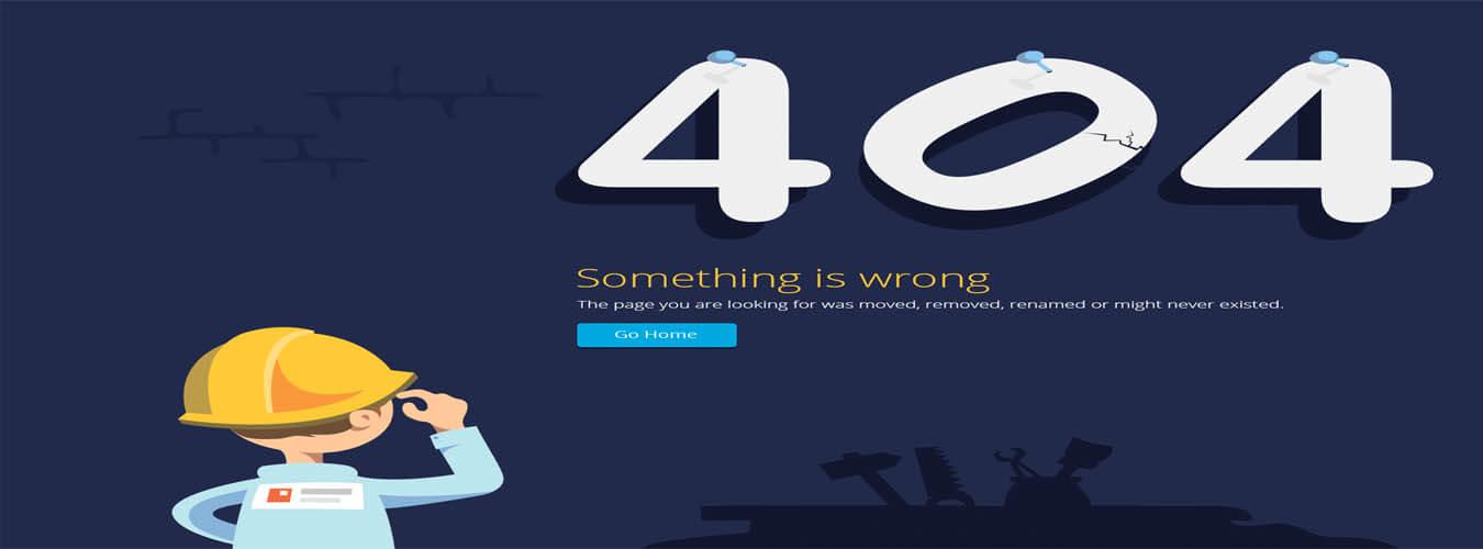 افزایش سئو سایت با استفاده از صفحه اختصاصی خطای 404 Error Page